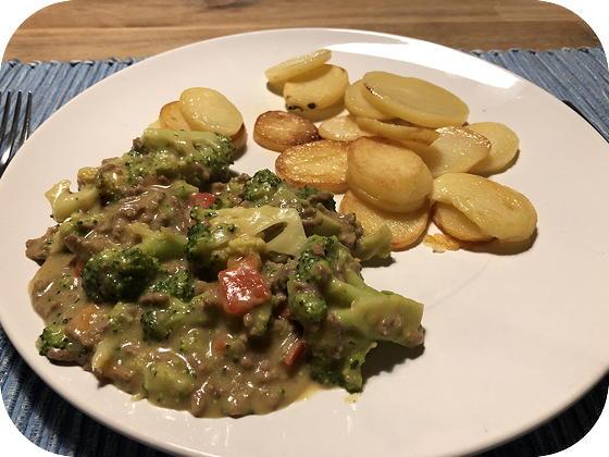 Broccoli met Kaas en Gehakt