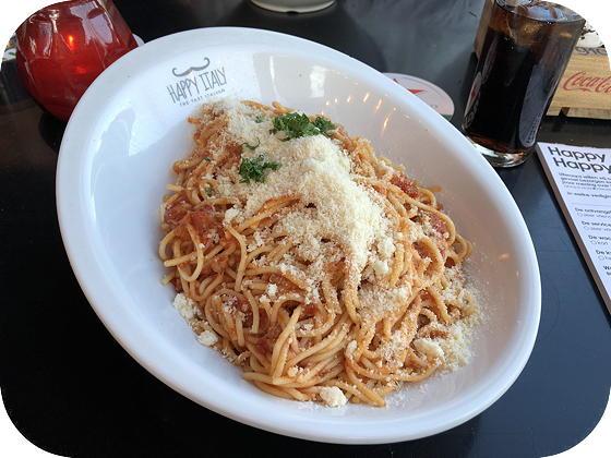 Happy Italy - Arnhem spaghetti bolognese