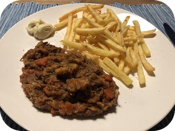 Stoofvlees met Pastinaak en Wortel