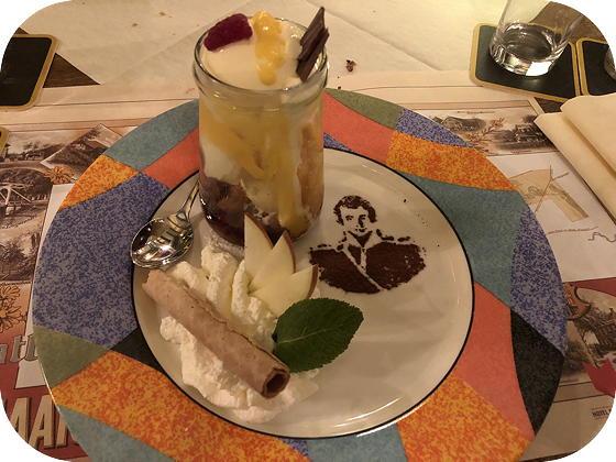 Uiteten bij Hotel Frederiksoord coupe advocaat boerenjongen