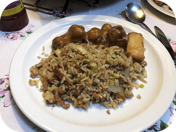 Vegetarische Nasi Keboeli