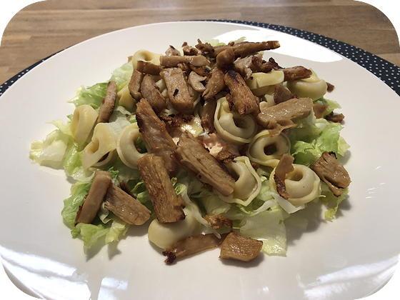 Salade met Vegetarische Reepjes