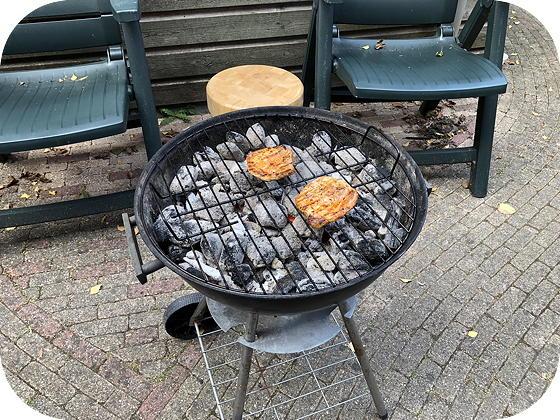 Barbecue varkensfiletlapje