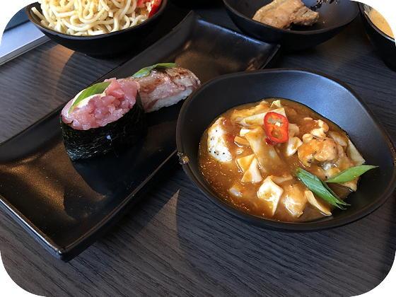 Hamachi Lommel chili chicken