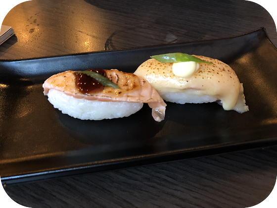 Hamachi Lommel nigiri