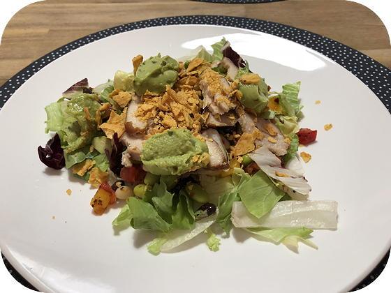 Mexicaanse Salade met Gerookte Kip