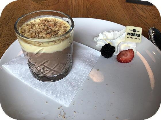 Verjaardag bij Moeke Rhenen chocolademousse