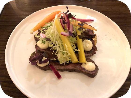 Bite Veenendaal Beef Tataki