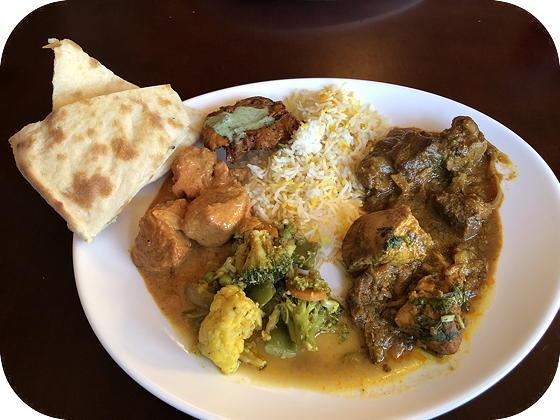 Indiaas buffet bij Taj Mahal Texel De Koog