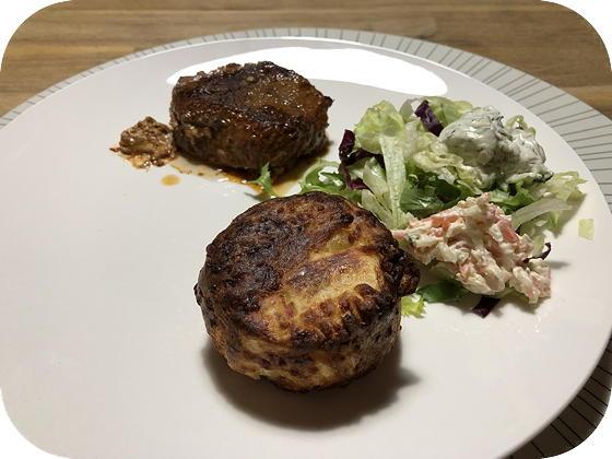 Zaans Slotje met Aardappelgratin en Salade