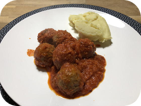 Balletjes in Tomatensaus