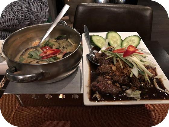 Chiang Mai Menu bij My Asia Wageningen Keng Kiow Waan Neua