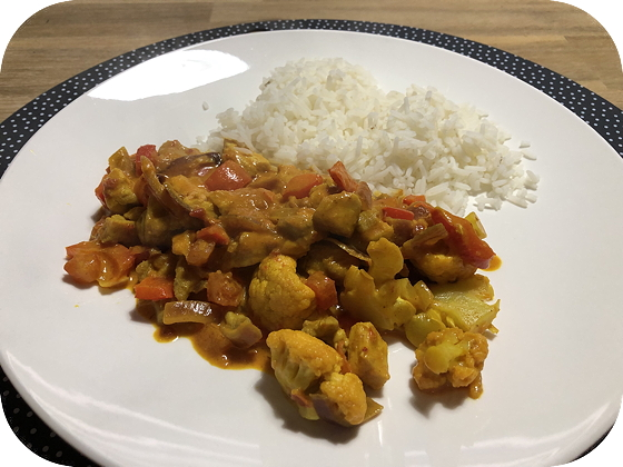 Indiaase Madras Curry