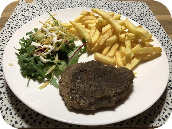 Stoofvlees met Friet en Salade