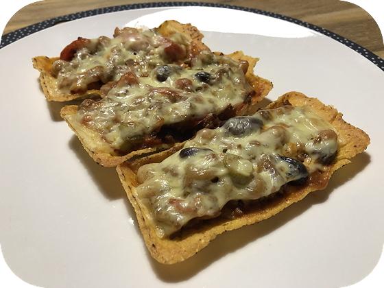 Taco's met Bonen en Kaas
