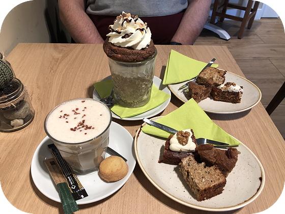 Taartje Eten bij Barista Café Veenendaal
