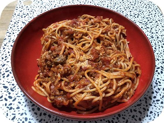 Pasta & Pizza van Da Asporto spaghetti bolognese