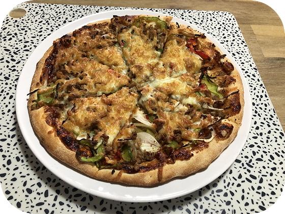 Pasta & Pizza van Da Asporto pizza bbq meatball