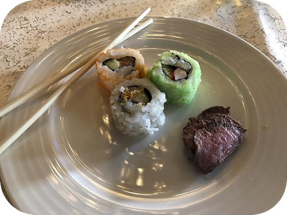 Wokrestaurant Tzong Don Oosterwolde sushi