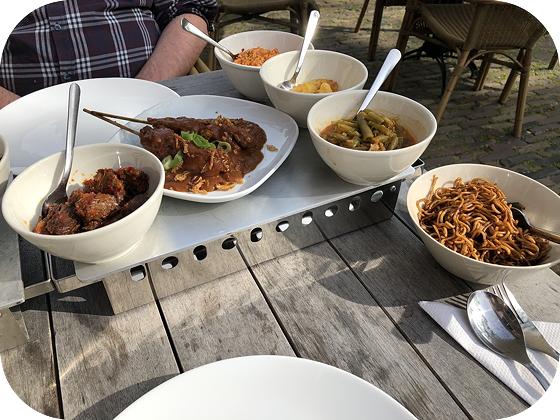 Rijsttafel bij de Eisseshof in Niehove culinaire reis