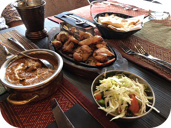 Indiaas Restaurant Namastey India in Veenendaal Murg malai kebab Chicken tikka masala