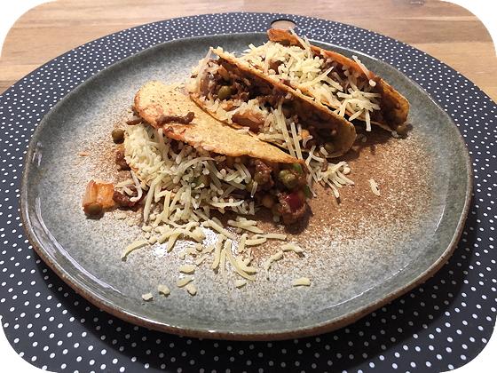 Taco's met Gehakt, Paprika en Peultjes