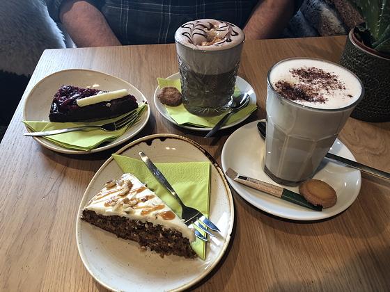 Taartjes bij Barista Café Veenendaal