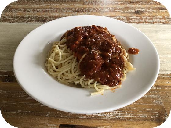 Spaghetti Bolognese uit de Magnetron