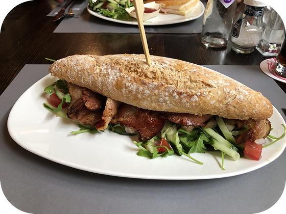 Lunchen bij Bom Burgh-Haamstede Zeeuws spek