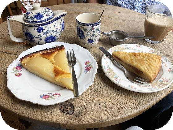 Taartje Eten bij Sint John Middelburg