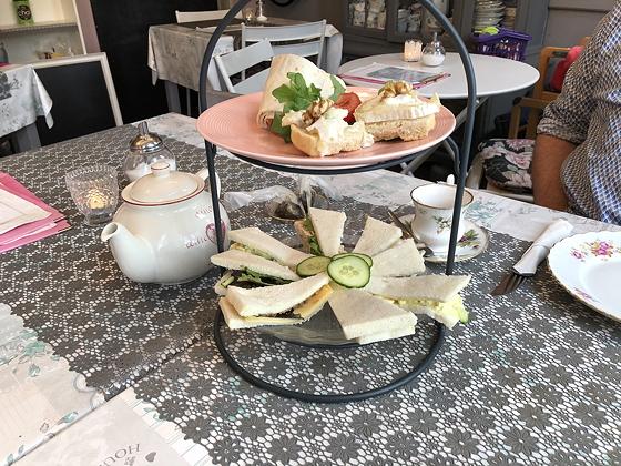 High Tea bij Tilly Rose Vlissingen hartig