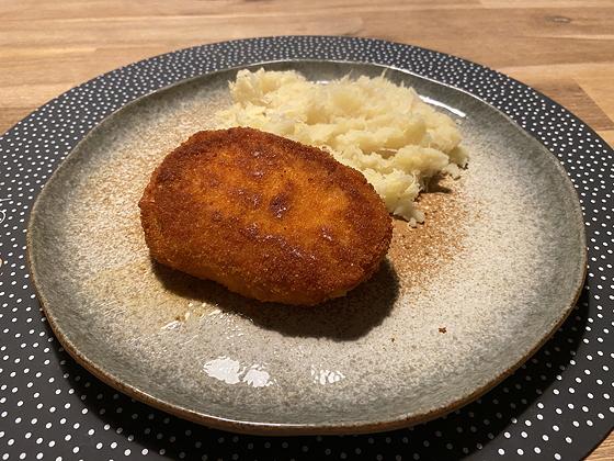 Zuurkool met Satéschnitzel