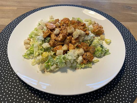 Afhaal-driegangendiner bij Bite Veenendaal mailhoen piri piri salade