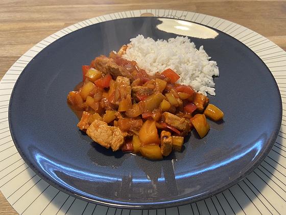 Schnitzel Pilav met Rijst
