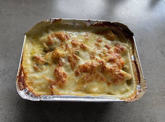 Kip-Noodles Ovenschotel uit de Airfryer