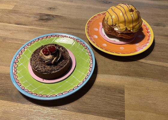 Lekkers van Tamminga Veenendaal mokka cremeux en bananensoes