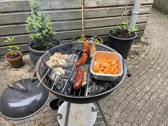 Barbecue op Vaderdag