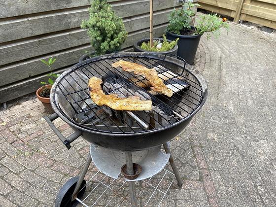 Barbecue speklapjes