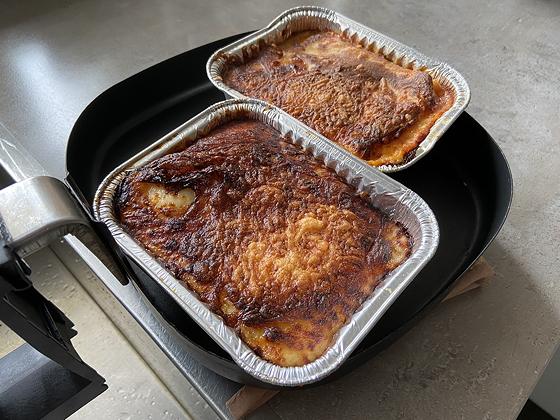 Lasagne uit de Airfryer