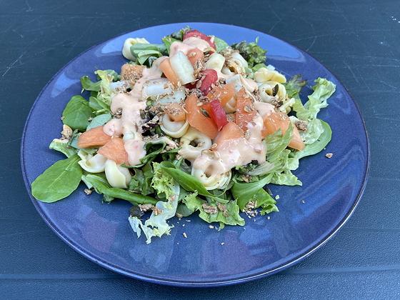 Salade met Tortellini en Meloen