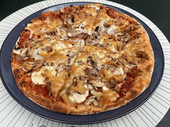 Pizza's van Da Asporto meatlovers