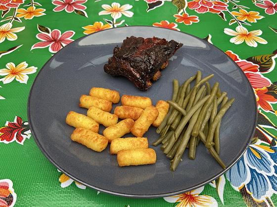 Homemade Spareribs van de Barbecue