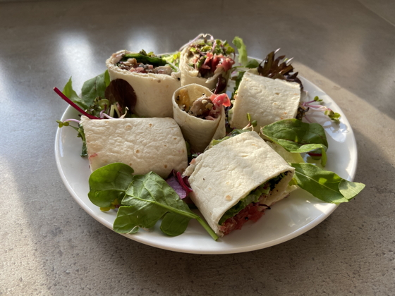 Lunchwrap van Barista Café Veenendaal