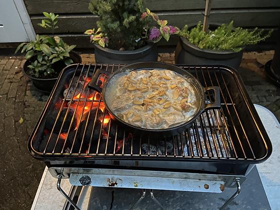 Kip Tikka Massala van de BBQ