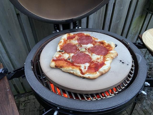 Zelfgemaakte Pizza's van de BBQ
