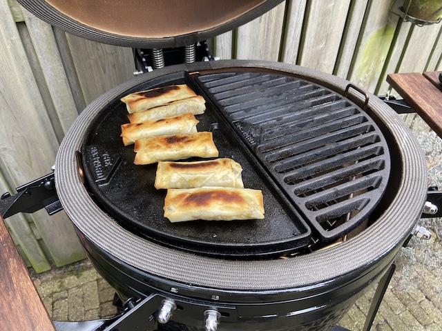 Shoarma Loempia's van de BBQ