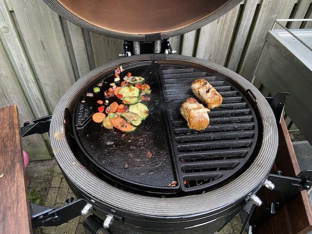 Kip op de Barbecue kipvink