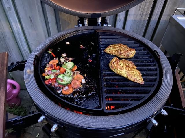 Kip op de Barbecue kip tropical