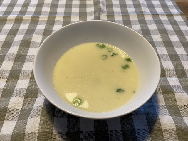 4-Gangen Paasmenu van Bite Veenendaal aspergesoep
