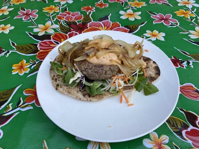 Flatbread Hamburger